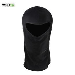 Wholesale Bicycle Headwear - WOSAWE Cycling Cap Windproof Mens Bandana Cycling Headband Bike Face Mask Hat Headwear Neck Warmer Winter Bicycle Cap