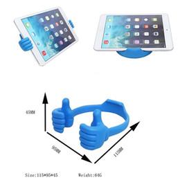 ups de escritorio Rebajas Universal Funny Thumbs-up ajustable soporte flexible Venta caliente Desktop Mount Holder Multi-color Desktop Mount Holder para teléfono Tablet PC