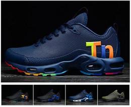 Lo nuevo Mens Airs Mercurial Tn Zapatos para correr Moda Rainbow Colorfull Hombres Diseñador Zapatillas Chaussures Hombre Tn Hombre Deportivas Eur40-47 desde fabricantes