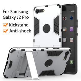 Iphone 6s más teléfono móvil online-Para Apple iPhone XR XS Max X 8 7 6 6 s 5 5 s Plus caso tpu pc kickstand cubierta del teléfono móvil para samsung galaxy j2 pro 2018 Note 9 case