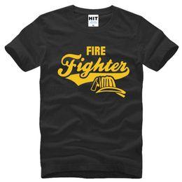 2019 bombeiro camiseta Bombeiro criativo Bombeiro Namorado Presente Camisetas Homens Estilo de Verão de Manga Curta O-pescoço de Algodão camisa de T Dos Homens Camiseta Homme desconto bombeiro camiseta