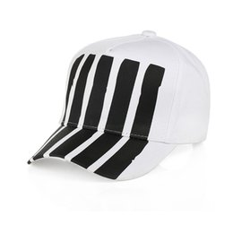 Men Street Hip Hop Cap Como Cut Off Cotton Embroidery Adjustable Dome  Geometric Letter Fashion Hat Casual Women 15xc hh fef3769101af