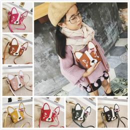 Wholesale Kids Crossbody Handbags - 7colors Baby Girls Boys Messenger Bags Ladybug Mini Shoulder Bag Cartoon animals Crossbody Kids Zero Purse Children Pouch Handbags SEN335