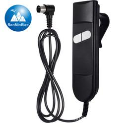 Manija con cable Control del auricular Powerlift Reclinable con motor Sofá Reposacabezas Respaldo Feetrest Cama ajustable Colchón ajustable Elevador desde fabricantes