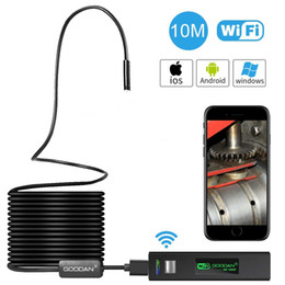 Wholesale Android Camera Flash - Wireless Inspection Camera, 1200P HD Wifi Endoscope With 2.0 Megapixels Snake Borescope For Iphone Android Smartphone, Ipad, PC - (33.5FT)