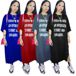Wholesale printing code - W8044 Offset English Letter Easy Will Code Dress Night Service