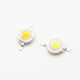 Wholesale 3w power led spot lamp - 1W 3W High Power LED Light-Emitting Diode LEDs Chip SMD Spot Light Down light Diode Lamp Bulb For DIY RGB