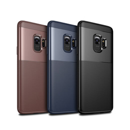 Wholesale Wine Skins Wholesale - Luxury Business Style Soft Silicone Case TPU Back Cover Skin All-inclusive Protection Anti-Fingerprints Anti-Scratch For Galaxy S9+ S9 Plus