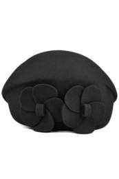 SYB 2016 NUOVE donne lana autunno inverno 2 fiori berretto cappello berretto in feltro moda nuova da berretti rosa all'ingrosso fornitori