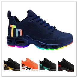new product cf38d aea95 Nouvelle Arrivée 2019 Tn Hommes Mercurial Plus Tn 2 Chaussures De Course  pour Haute Qualité formateurs TN2 Hommes Classique Baskets De Formation  Size40-46 ...