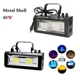 Wholesale equipment for party - DJ Equipment Strobe Flash Light LED 40W DJ Lights Stage Party Lighting Sound Controlled Disco for Party Show Xmas Halloween