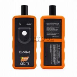 2019 lanzar actualizaciones de escáner automotriz 2018 Mejor Calidad A + EL50448 Sensor de Presión de Neumáticos Auto Sensor OEC-T5 EL 50448 Para GM / Opel Herramienta de Restablecimiento TPMS EL-50448 Electrónico