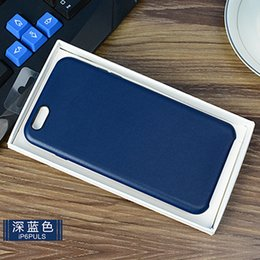 Wholesale Nice Apple - Original Leather Case Full Board For Iphone 5 6 7 plus Nice Touch Feel Shell For Iphone