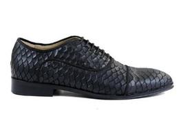 Scarpe in pelle alligatore online-2018 Uomo Scarpe in pelle di alligatore Lace-up Scarpe derby Business Wedding Flat Scarpe da uomo eleganti di alta qualità EU39-EU46