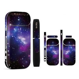 autocollant de peau galaxie Promotion Autocollant d'IQOS d'étiquette d'impression du matériel 3M de PVC de galaxie de ciel d'étoile pour l'autocollant d'IQOS de peau d'antiquité d'IQOS 2.4 plus de décalque