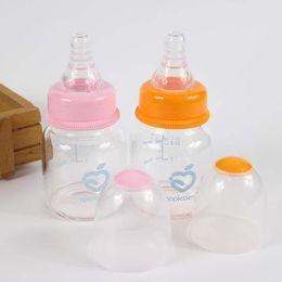 Wholesale Bottles For Medicine - 60ml 2oz standard infant glass baby feeding bottles biberon baby nursing bottle for water juice medicine feeder bpa free
