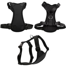 Wholesale Dog Pull Harness - Padded Dog Harness Vest Pet Dog Step In Harness Adjustable No Pulling Pet Harnesses for Small Medium