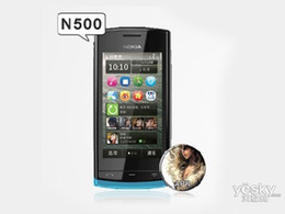 Wholesale Real Mobile Phone - 2016 Real Special Offer Symbian Nokia N500 2gb 32gb 2017 Sale Original for Nokia N500 500 Mobile Phone Gsm wcdma Wifi Gps 5mp free Shipping