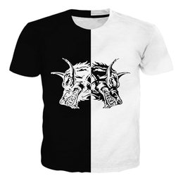 T-shirt grafik-design online-Großhandelsneues Sommer Wellcoda hungriges Blut-Wolf-Tier-Frauen-Rundhalsausschnitt-T-Shirt, 0 grafisches Entwurfs-T-Stück Ypf123