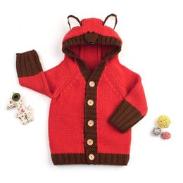 95c88a714ba4 2018 Winter Clothes Toddler Baby Boy Sweater Baby Children Clothing Boy  Girls Knitted Cardigan Sweater Kids Spring Knit Sweaters