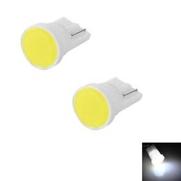Canada 10Pcs T10 LED 12V COB W5W 194 3W 6000K Voitures De Diodes Électroluminescentes Canbus Indépendant 8 Ampoule Led Pas d'erreurs Lampe d'ère Univ Offre