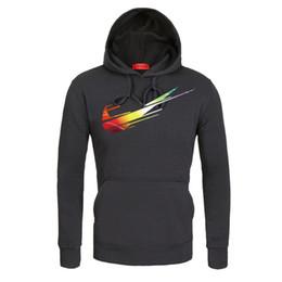 slim fit herren sweatshirts Rabatt Mode Herren Prinetd Hoodies Slim Fit Baumwoll Sweatshirt 7 Farben 2 Styles gerippt Langarm Pullover