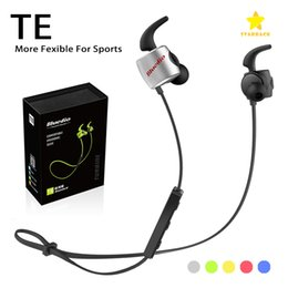 Wholesale green earbuds - Bluedio TE Bluetooth Earphones Wireless Headphones In-ear Earbuds Stereo Sport Earbuds with Microphone with Retail Package