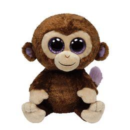 All Tags 25CM Original Ty Beanie Boos Plush Toy Big Eyed Stuffed Animal  COCONUT MONKEY Kids Toy Birthday Gift Home Decor 01225b5fcf2b