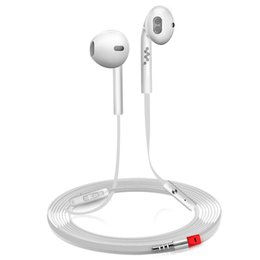 Wholesale Clear Earphones - Earphone headset 3.5mm In-ear auriculares Super Clear Noise Isolating with Microphone Super Bass Smart watch Earphone Headset For Smartphone