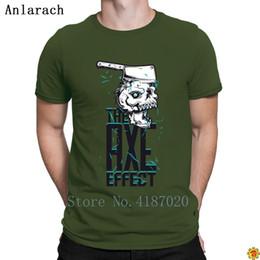 Canada The Axe Effect T-Shirts Printemps Automne HipHop Tops Pas Cher Vente Caractère T Shirt Pour Hommes Grande Manches Courtes Nouvelle Arrivée Lettres Offre