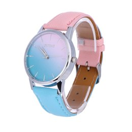 2dde4177b6 candy watches Canada - Women Watch Dail Quartz Lover Wristwatch Casual  Candy Color Band Quartz Strap