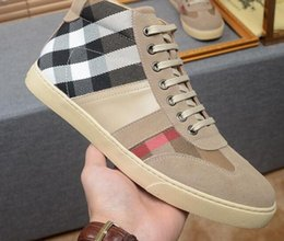 Wholesale Italy Designer Shoes - Plus sizes 38-44 Men women casual shoes fashion sneakers High quality Italy famous italian designer brands luxury Genuine Leather scarpe da