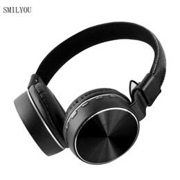 auriculares bluetooth de marca Rebajas SMILYOU Nuevos auriculares inalámbricos K1 Auriculares inalámbricos de metal con micrófono para teléfonos