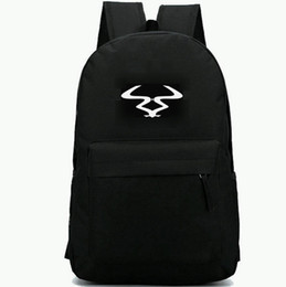 China Ram Records backpack Bass label daypack Top DJ music schoolbag  Leisure rucksack Sport school bag e27c73127996c