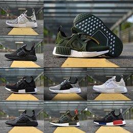 Wholesale Fall Japan - NMD XR1 pk OG Onix Grey zebra Triple White Black Mastermind Japan mmj Olive green nmd Men Women shoe Running Shoes Sneaker