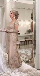 2019 vestido asimetrico madre La madre de la novia de 2019 viste una línea de manga larga escarpada formal de la noche de la madrina del banquete de boda de los invitados del vestido más tamaño por encargo
