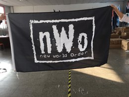 Wholesale Flag Items - New World Order NWO Decor Flag 90x150cm 100D Polyester Fabric Prints 3x5 Wholesale Factory Price Flags Popular items for Sale