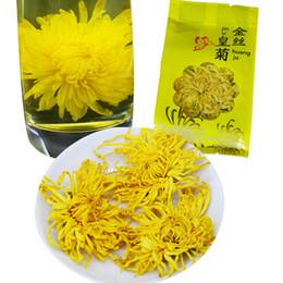 fiori di crisantemi Sconti miglior fiore di tè 20 pezzi / lotto crisantemo una grande tazza di tisana biologica in estate sarà preferito