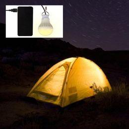 2019 mobile led-lampe Neue 5 Watt 5 V USB Powered LED Nachtlicht Lampe 300 Lumen Outdoor Tragbare Hängende Zelt Licht Camping Lampe für Handy günstig mobile led-lampe