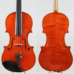 """Deutschland Meister Violine Violino! Identitätskopie! Guarneri del Gesu """"Die Kanone"""" 1743! Starker und tiefer Ton! Freies Verschiffen! Aubert Brücke! NR. 3 Versorgung"""