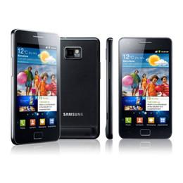Argentina Restaurado Samsung Galaxy S2 I9100 Original I9100 Quad Core 3G 1.2GHZ 1G RAM 16G ROM Android 2.3 Desbloqueado Smartphone Suministro