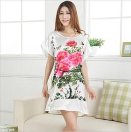 New Casual Sleepshirts Women Short-sleeve Nightgown Women s Sleep Lounge  girls sleepwear cute loose underwear nightdress G0443 c2cef4cc7