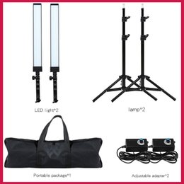 fotografische lichtkits Rabatt GSKAIWEN 180 LED Licht Fotografie Studio LED Beleuchtung Kit Einstellbare Licht mit Stativ Stativ Foto Video Fill Ligh