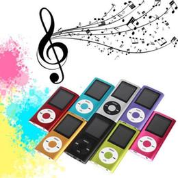 "Wholesale Mp3 Mp4 Card Reader - NEW 4th Genera MP3 MP4 Player Slim 4TH 1.8""LCD Video Radio FM Player Support 4GB 8GB 16GB 32GB Micro SD TF Card Mp4 OTH264"