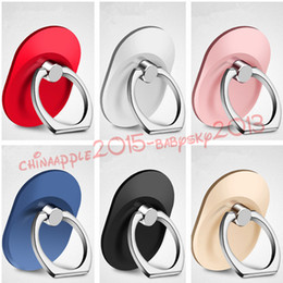 Wholesale Grip Mobile - 360 Ring Finger Stand Bracket Holder finger grip For Smart Phones Mobile Phone For iphone samsung tablet pc
