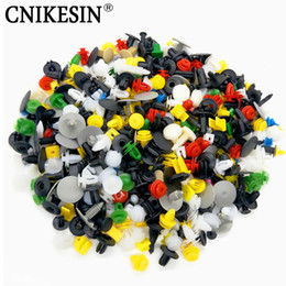 Wholesale Auto Mixing - 200Pcs Universal Mixed Auto Fastener Car Bumper Clips Retainer Car Fastener Rivet Door Panel Fender Liner for all car