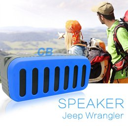 bluetooth audio quality car NZ - High quality wholesale New outdoor waterproof sports portable wireless bluetooth speaker car stereo mini bluetooth speakers