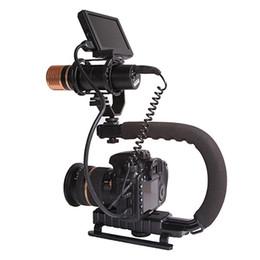 suportes em forma de c Desconto Aperto Handheld do suporte profissional da estabilização da C-Forma do C para a câmera de DSLR