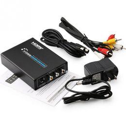 2018 convertisseur vidéo vidéo de s HDMI à AV / Svideo Vidéo Convertisseur HDMI 2 RCA / SVIDEO + S VIDEO Switcher Adaptateur 1080P HD pour XBOX360 convertisseur vidéo vidéo de s pas cher