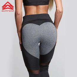42aeee998f17d Discount black yoga pants hot - Syprem 2017 new hot sales heart booty yoga  leggings for